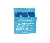 Salvequick Blue Detectable Adhesive Plasters