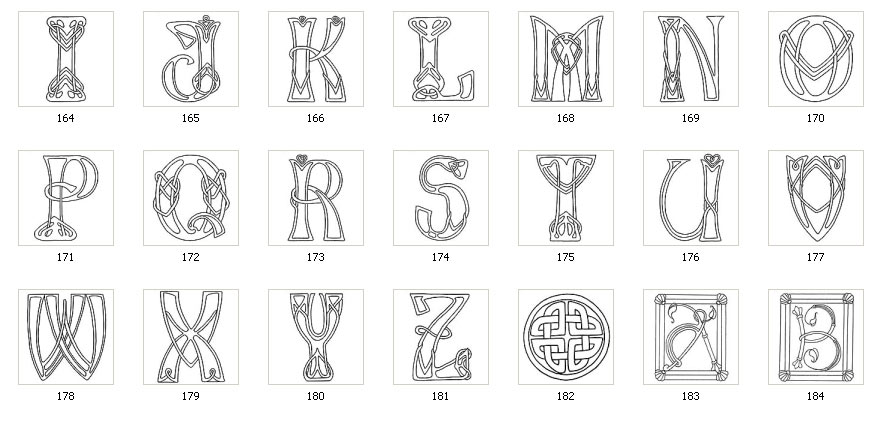 Celtic And Norse Letters The Sign Maker