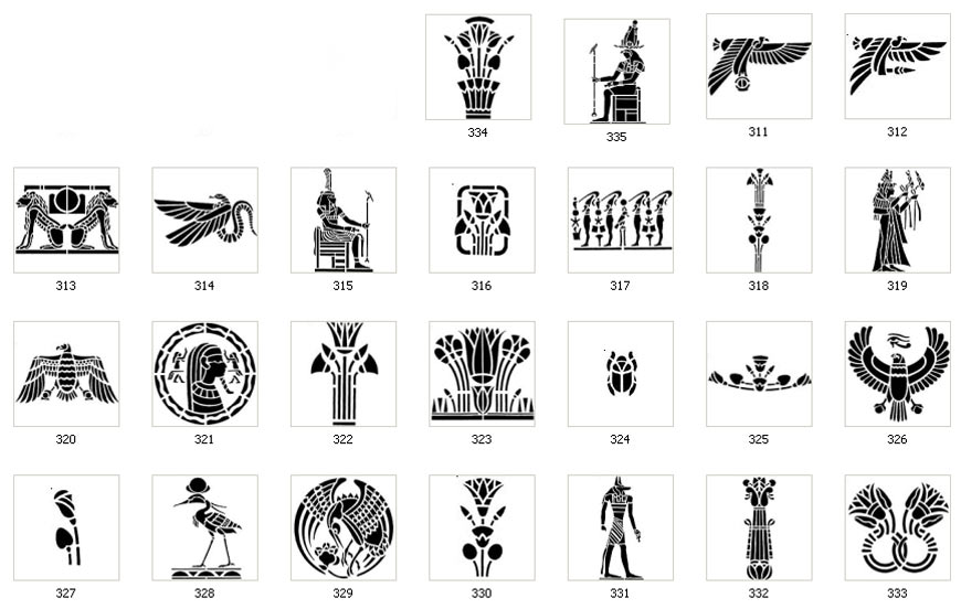 Egyptian Images The Sign Maker