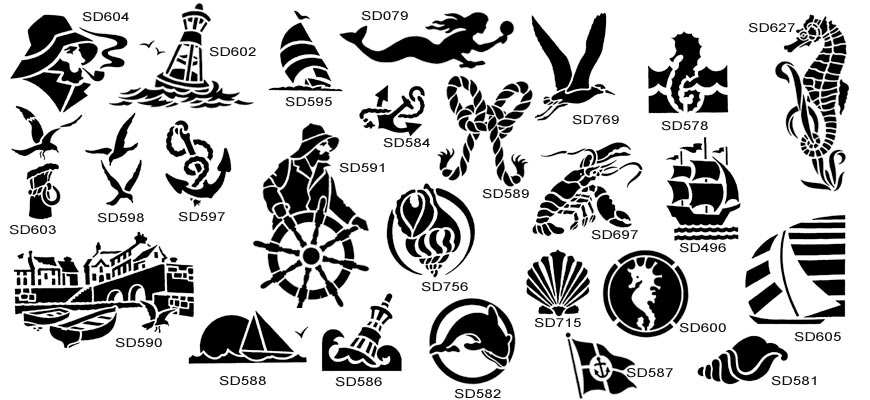 Laser Cut Metal Signs >> Vintage Maritime Designs   The Sign Maker