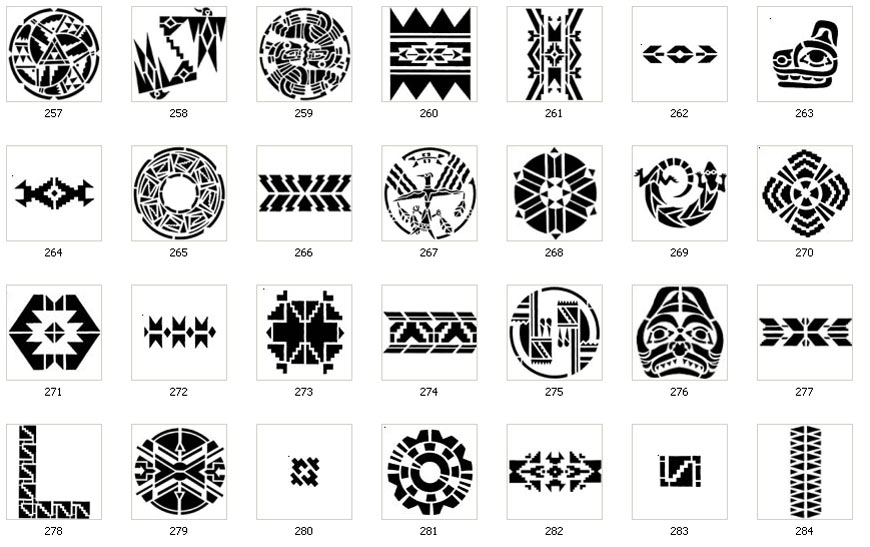 Tribal Images Native American Maya Aztec Meso The Sign Maker