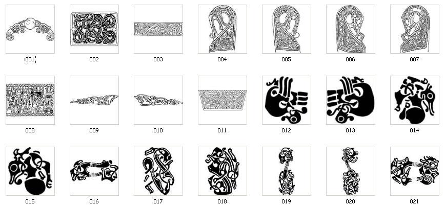Viking Symbols and Designs