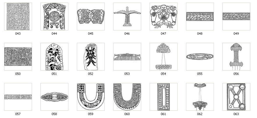 Authentic Viking Designs Motifs And Images