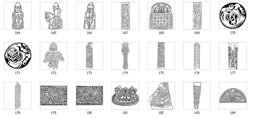 Authentic Viking Designs Motifs And Images Custom Viking Patterns