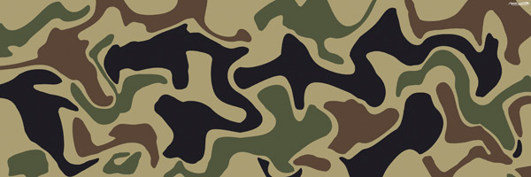Camouflage Backgrounds For Full Colour Printed Signs