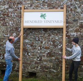 Bespoke Entrance Sign