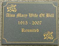 Stone Effect Corian Memorial Signs
