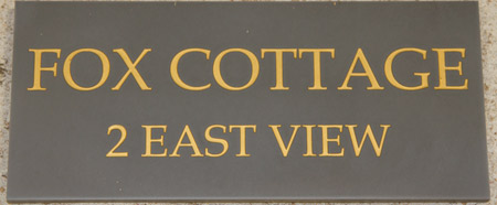 Engraved Plaques Stone Like Corian House Signs The Sign