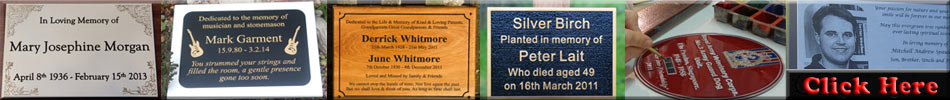 Click here to see more memorials and memorial plaques