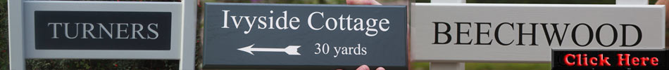 Click here to see more painted wooden signs