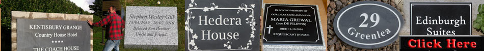 See more of our stone house signs