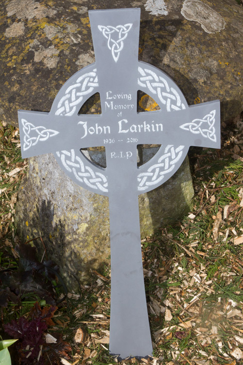 Celtic cross made in corian