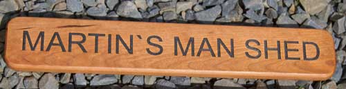 Man Shed  Sign