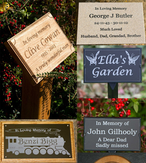 See the whole range of memorials and memorial plaques.