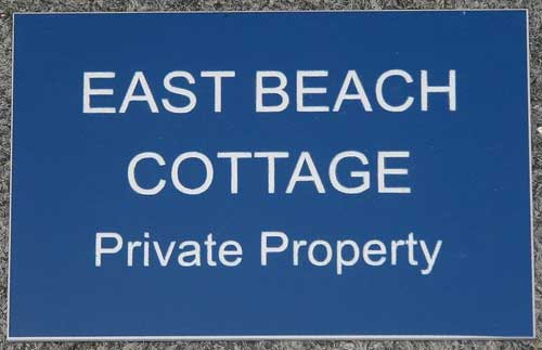 Small Engraved House Sign