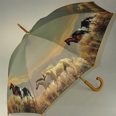 Adult Children S Amp Folding Umbrellas Horse Dog Cat