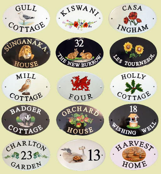 photo house name signs house number plaques uk house. Black Bedroom Furniture Sets. Home Design Ideas