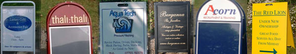 Quality Pavement Signs, A-Boards and Sandwich Boards