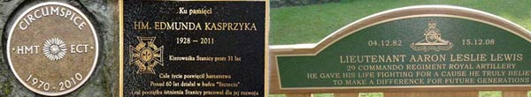 Bronze Signs, Plaques and Grave Markers
