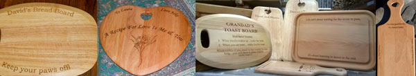Chopping Boards as Wedding Presents