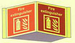 Fire Extinguisher Panoramic Sign