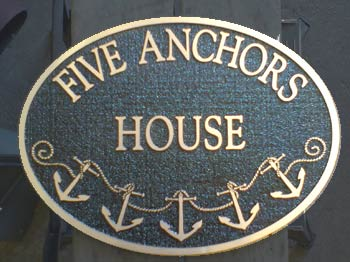 Bronze House Sign