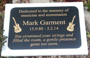 Two tone engraved plaque