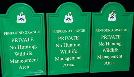 Fibreglass Estate Signs