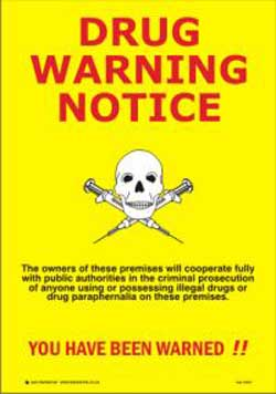 Drug Warning Notice