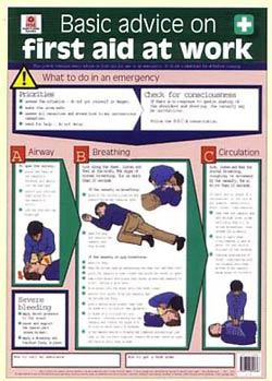 Health & Safety Posters, Electric Shock, First Aid   The ...