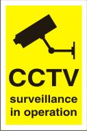 CCTV surveillance in operation