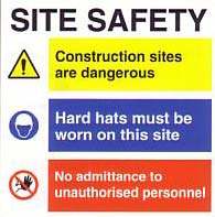 small site safety poster