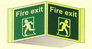 Fire Exit Running Man