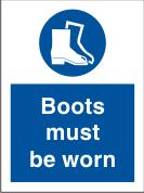Boots Must Be Worn