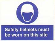 safety helmets must be