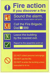 Fire Action Manual Dial