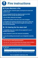 Fire Instructions