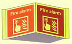 Fire Alarm Panoramic Sign