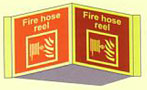 Fire Hose Reel Panoramic Sign