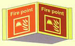 Fire Point Panoramic Sign