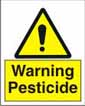 Warning Pesticide
