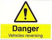 vehicles reversing
