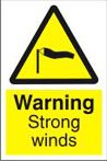 Warning Strong Winds