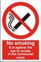 No Smoking In Communal Area