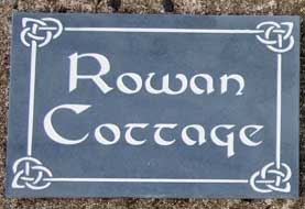 Slate house name signs - Lots of choice