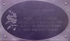 Slate memorials in many sizes