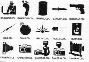 bomb gun bullet footprint camera