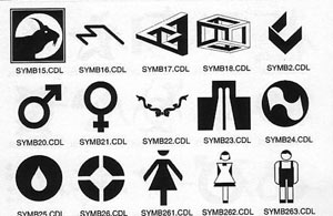 symbols for signs