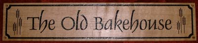Old Bakehouse Sign