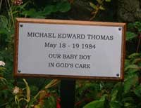 laminate memorial plaque